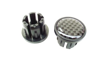 Bike Ribbon Carbon Bar Plugs