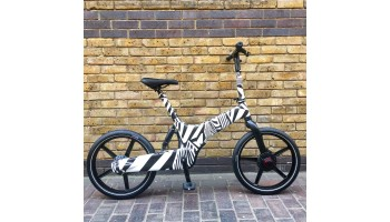 Gocycle G3 Electric Bike - Limited Edition Dazzle Camouflage