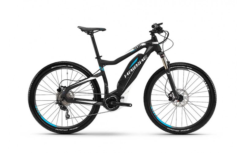 An Electric Mountain Bike or e-MTB