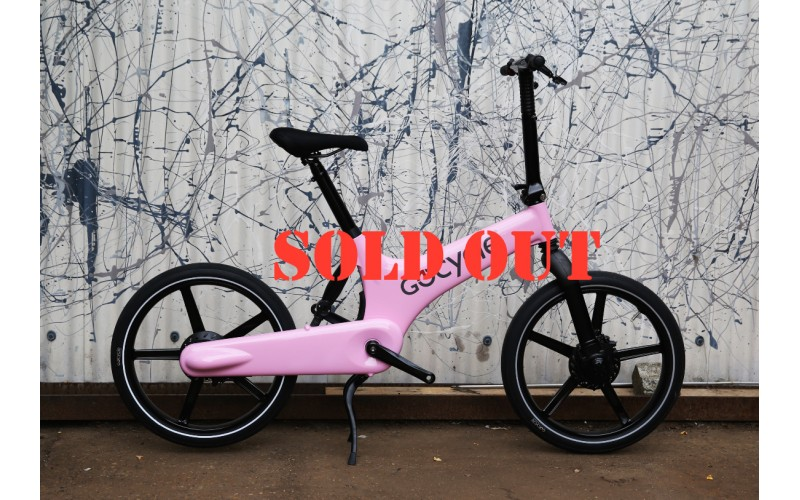 GoCycle G2 Limited Edition Pink