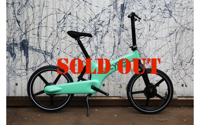 GoCycle G2 Limited Edition Mint Green