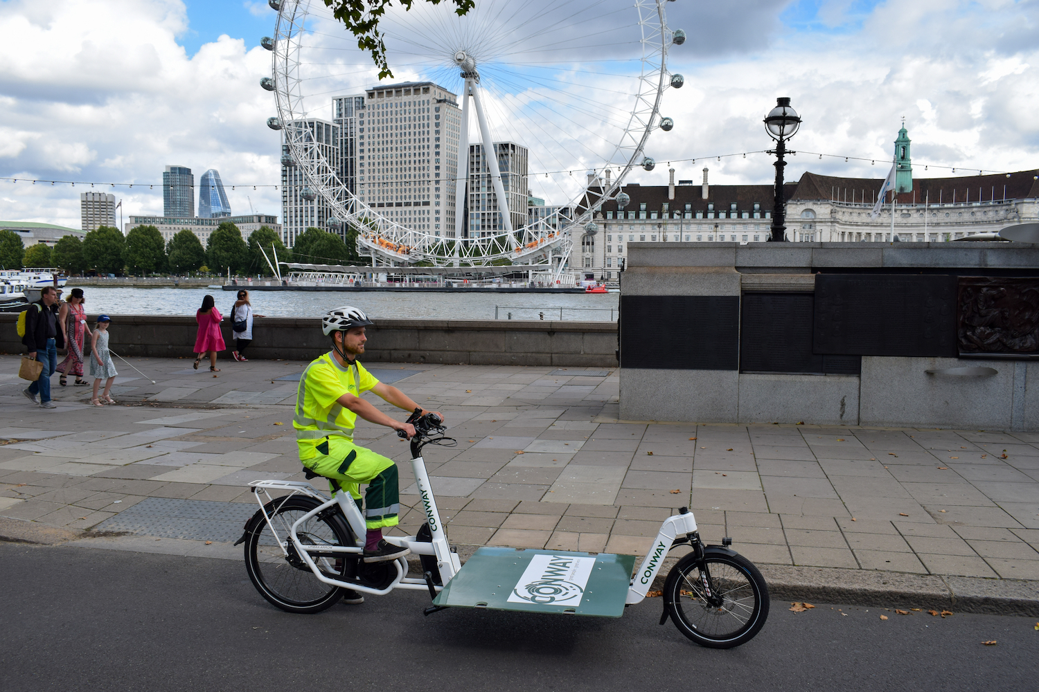 The benefits of eCargo bikes for Construction Companies in inner cities