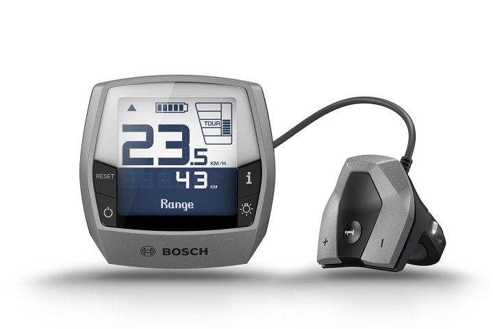 The Bosch Intuvia Display
