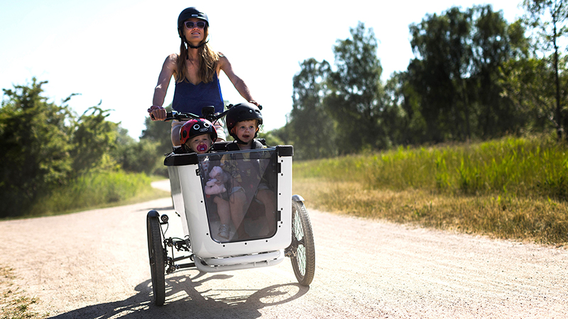 Why should I choose an eCargo bike for my family?