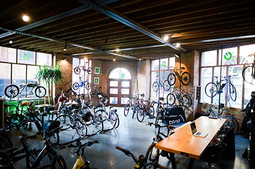 Fully Charged London eBike Show Room