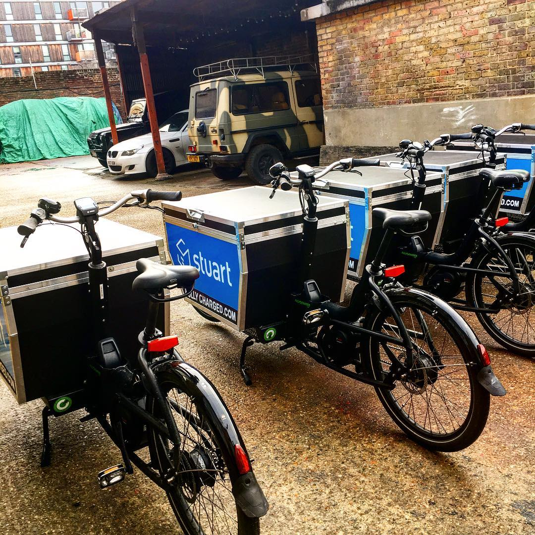 eBike rental at Hoxton Docks