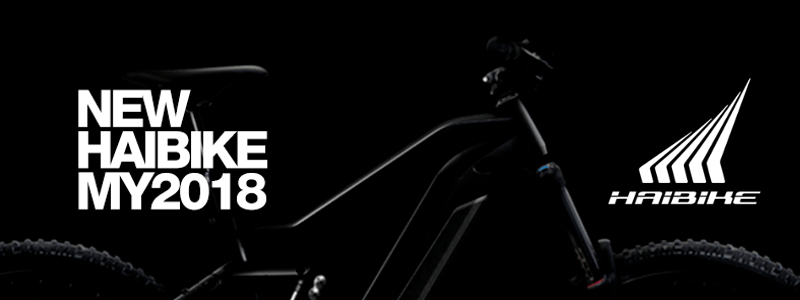 Haibike Launch 2018 Bosch and Yamaha Powered Electric Bike Range