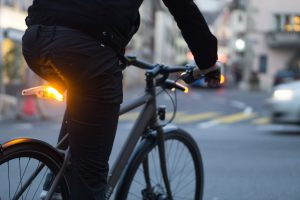Blinkers light for bike safety