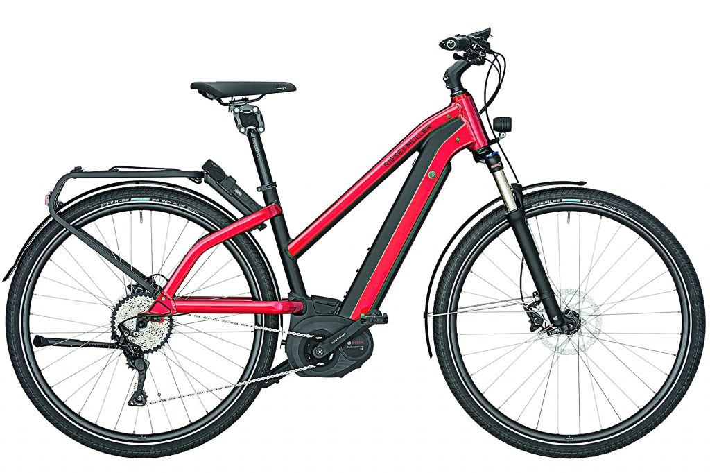 New Charger Mixte Womens electric bike